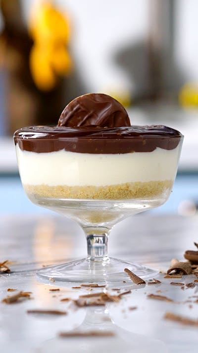 Chocolate Cream Pie in a Cup