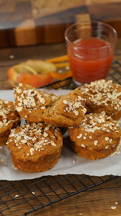 Breakfast Muffins With Juice Pulp