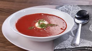 Ruby Red Roasted Beet Borscht Image