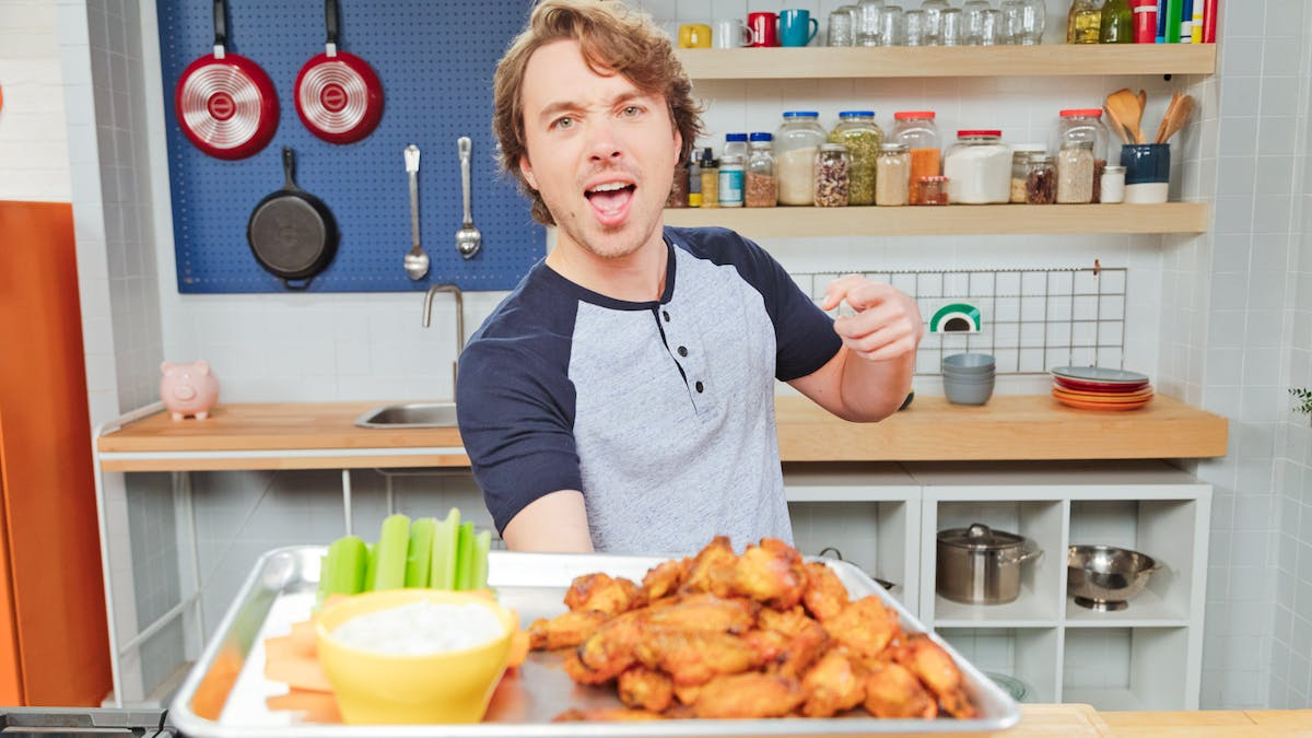 Game Day Chicken Wings Image