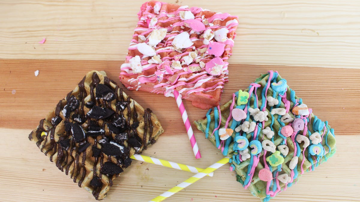 Lucky Charms Waffle Pops Image