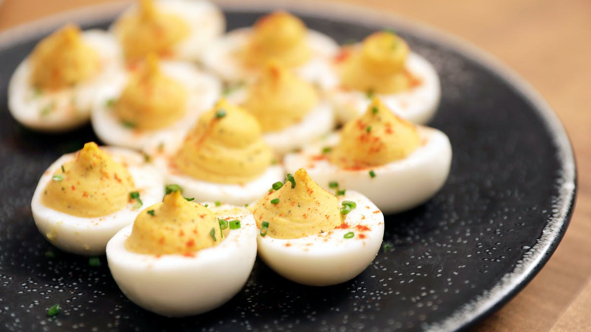 Spicy Deviled Eggs Image