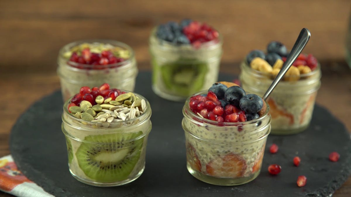 Guilt-Free Cashew Chia Pudding Image