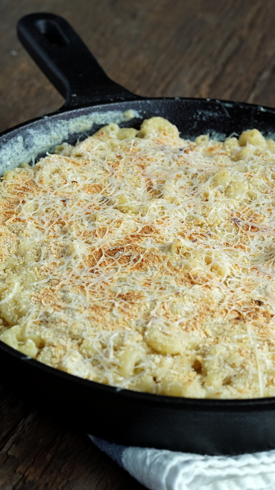 Garlic Alfredo Mac & Cheese