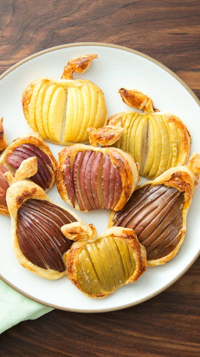 Apple and Pear Puff Pastries