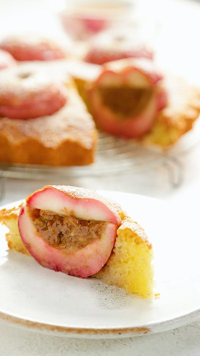 Stuffed Apple Cake