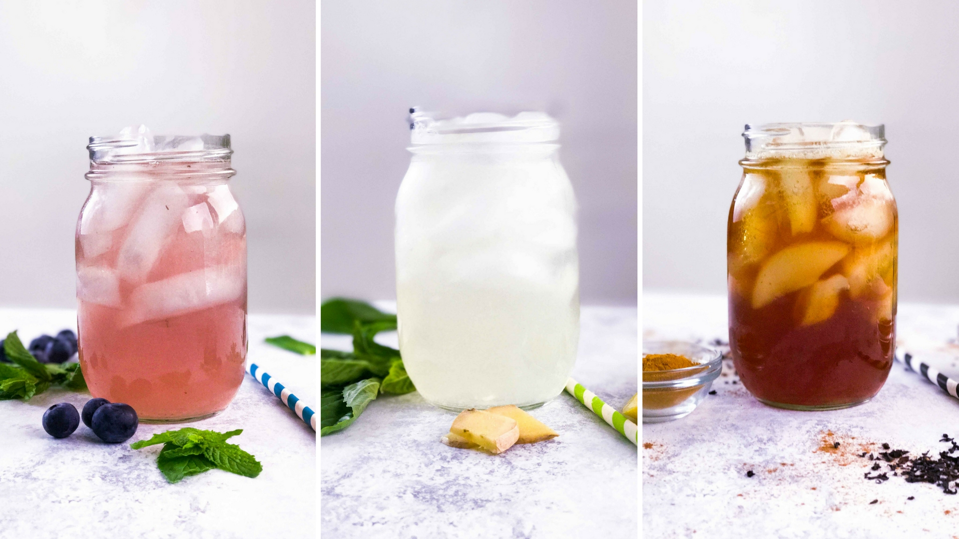 3 Detox Iced Teas for the Summer