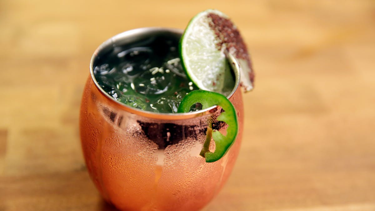 Spicy Moscow Mule Image