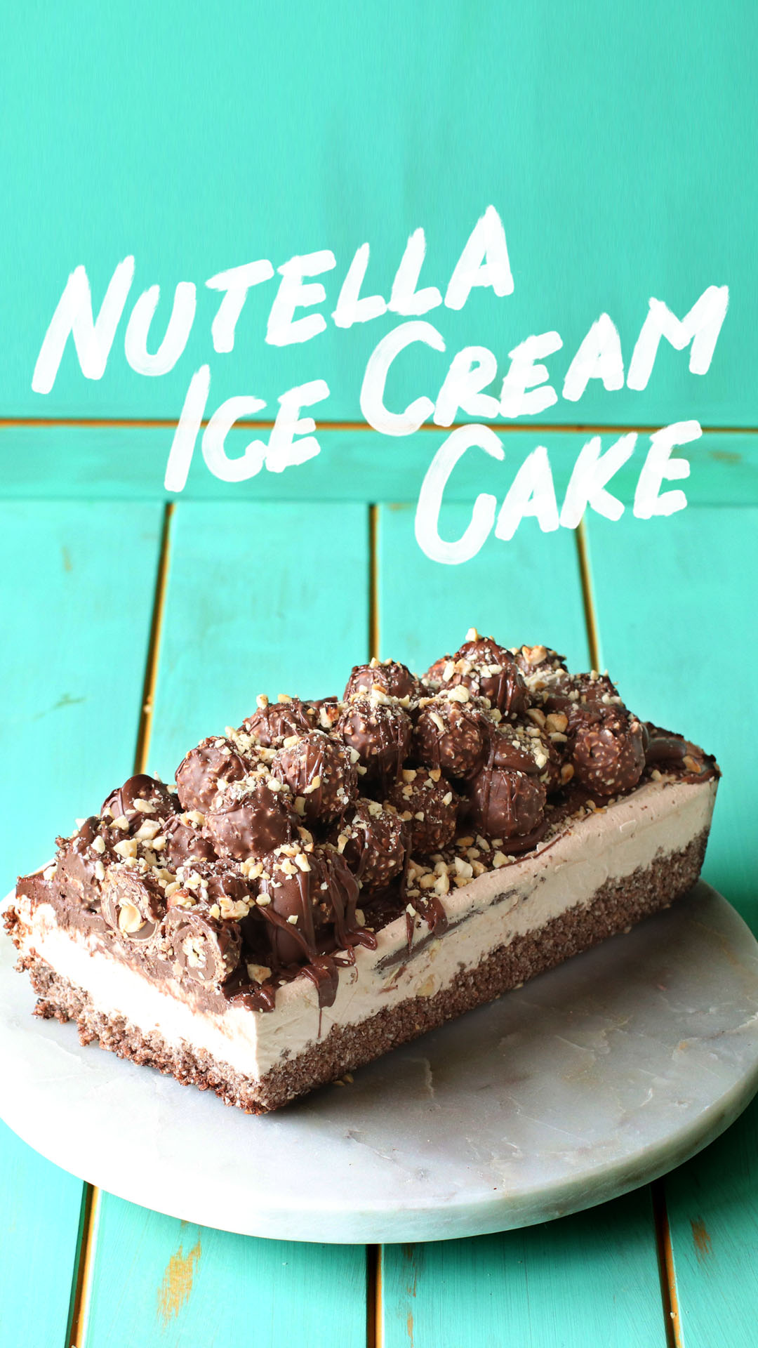 Nutella Ice Cream Cake The Scran Line Tastemade Go Box Of 12