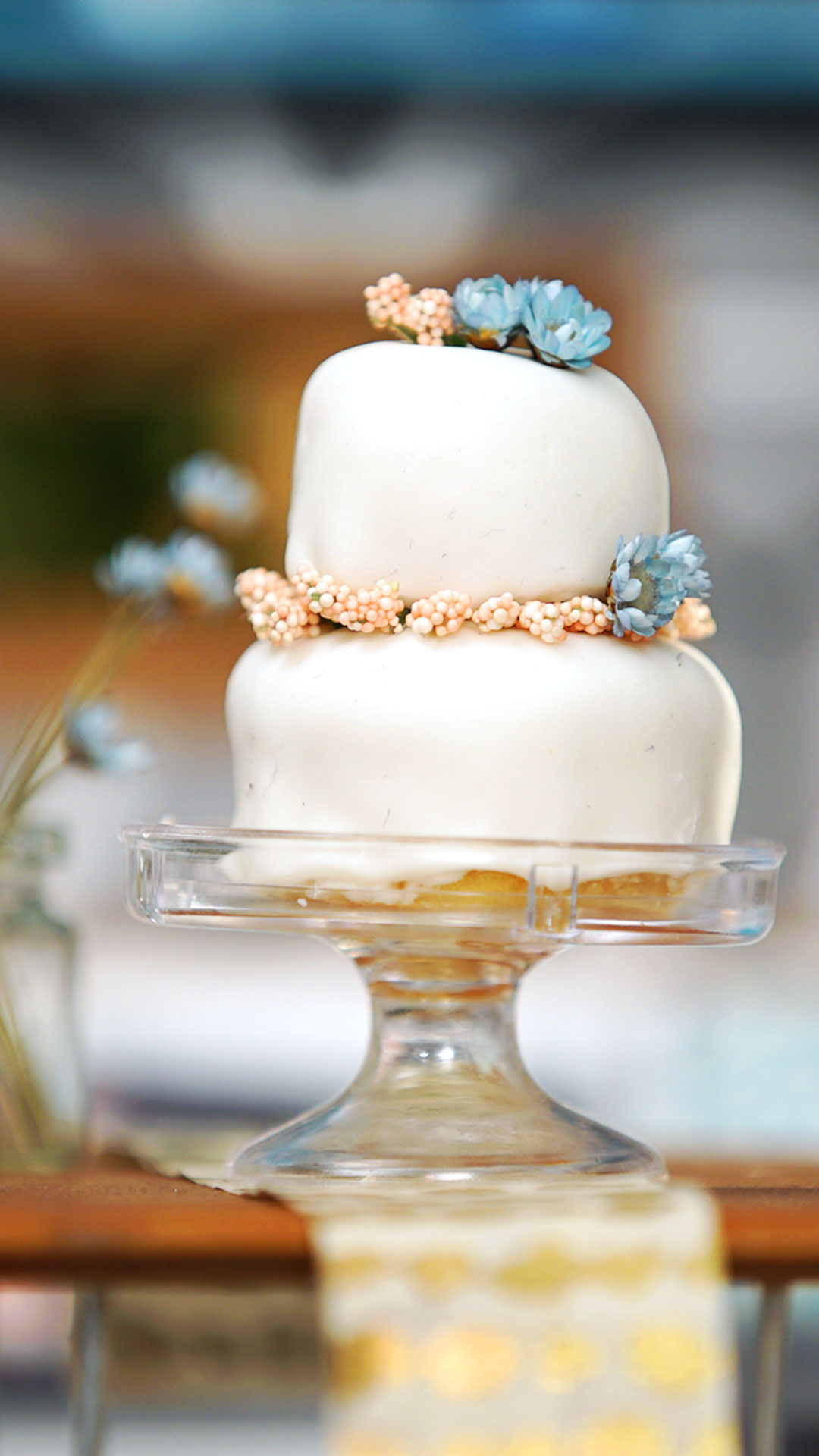 Tiny Wedding Cake Tiny Kitchen Tastemade