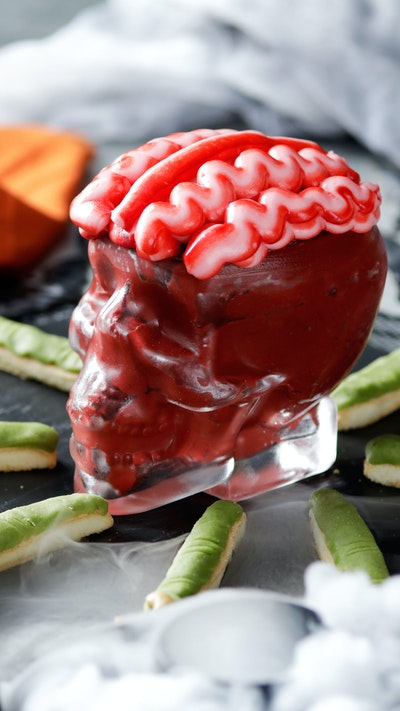 Brain Dip With Witchy Woman Fingers