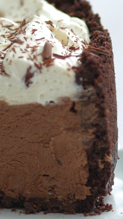 Deep Dish Chocolate Cream Pie