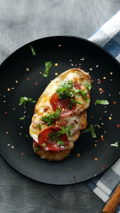 Pizza Baked Potatoes