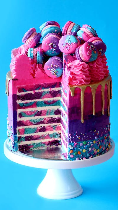 Highway Unicorn Cake