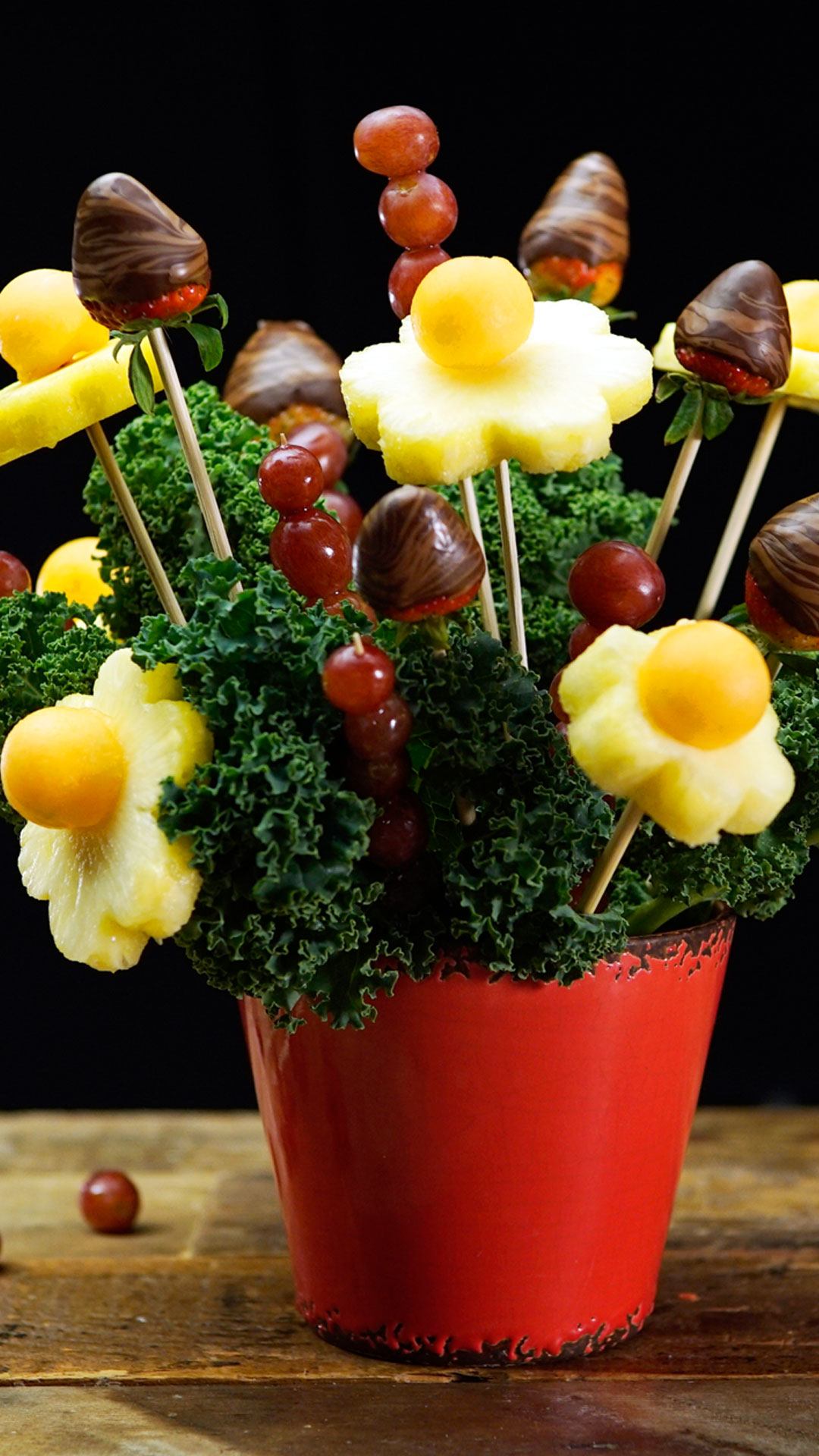 diy edible arrangements ~ recipe | tastemade