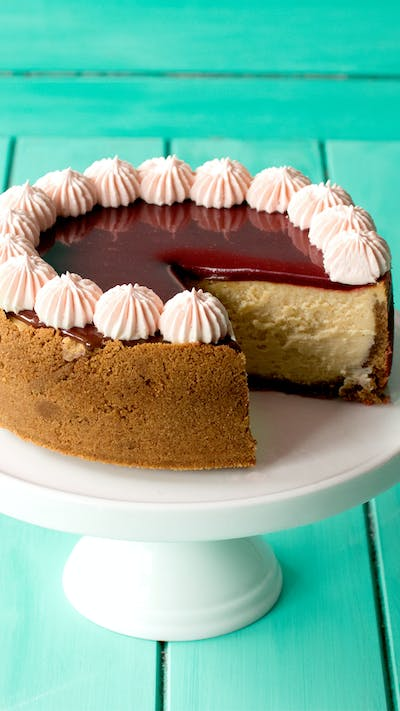 Maple Caramel Cheesecake