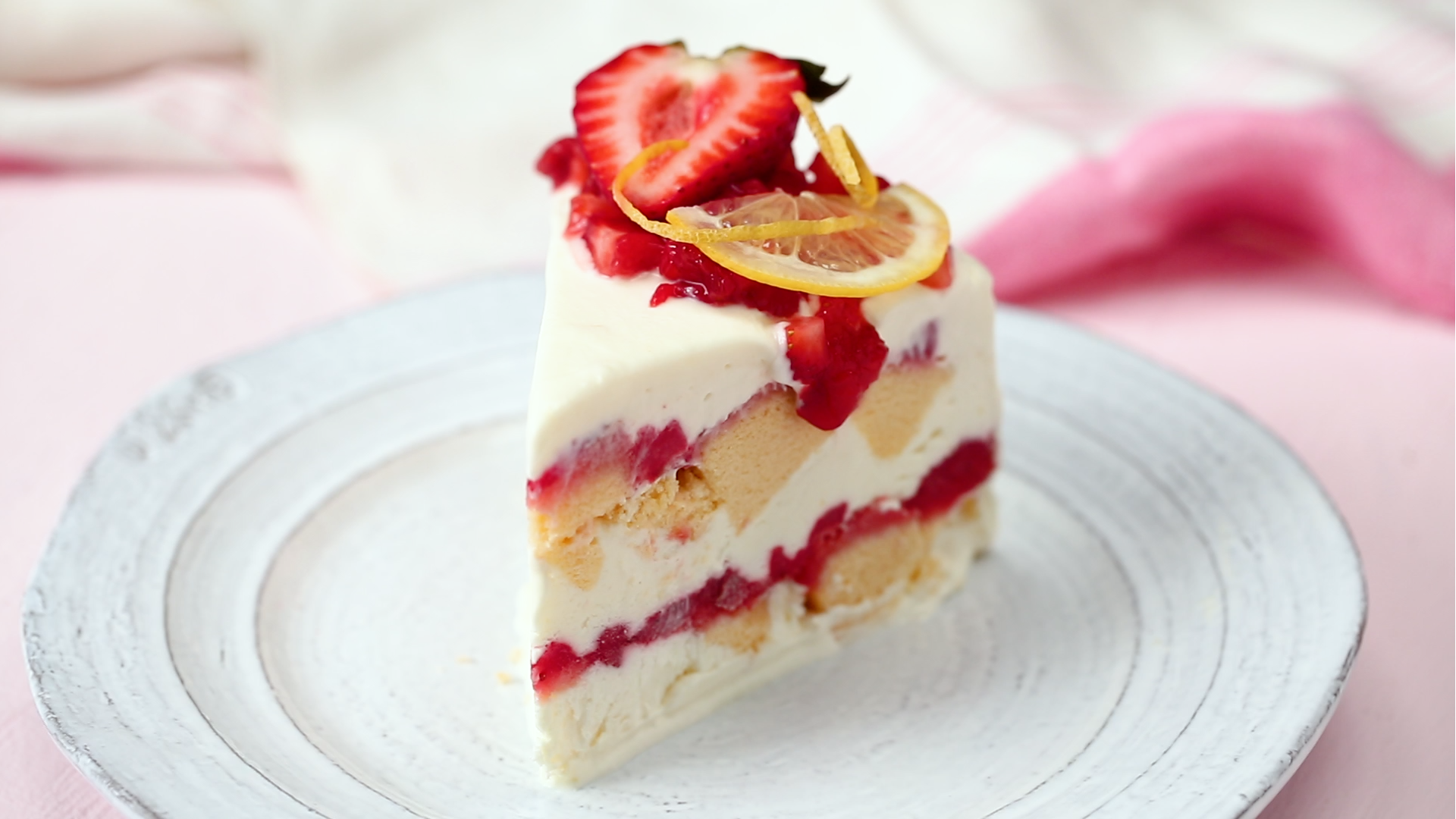 Strawberry Lemonade Cake Recipe Pinterest