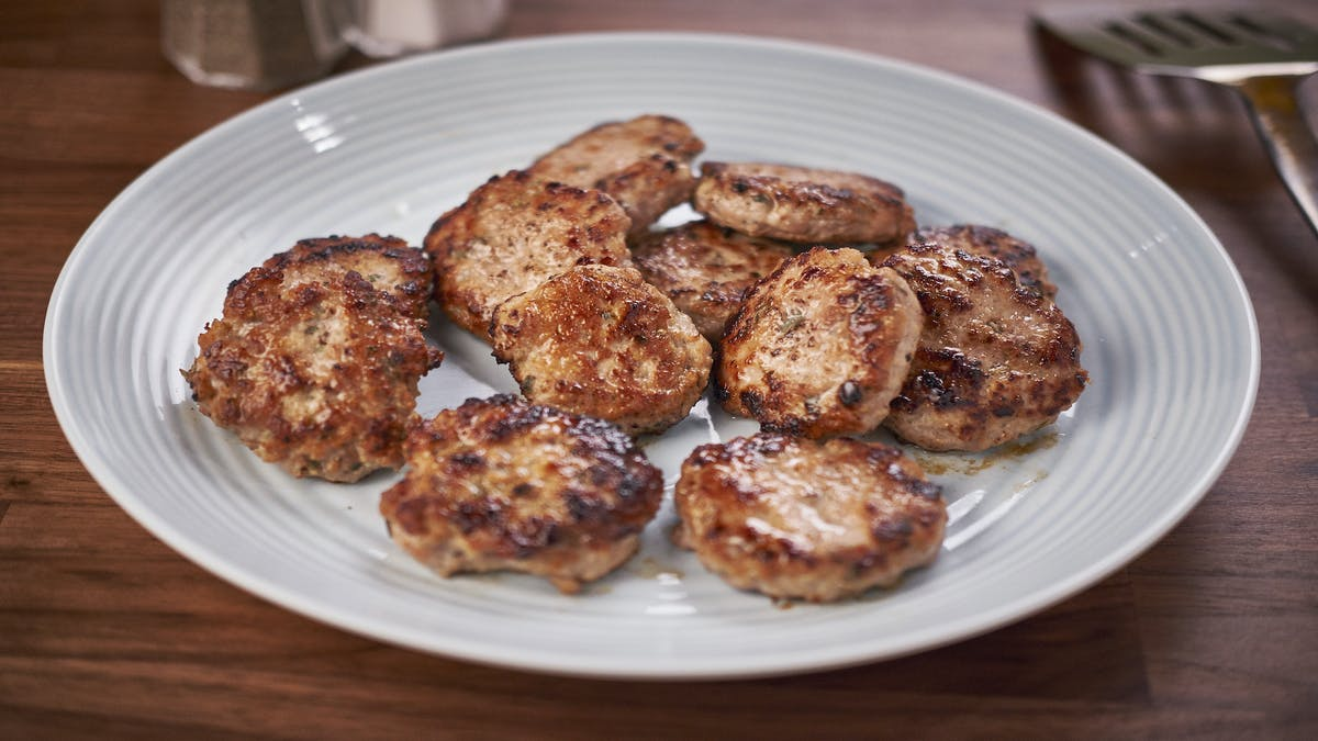 Maple Breakfast Sausages Image