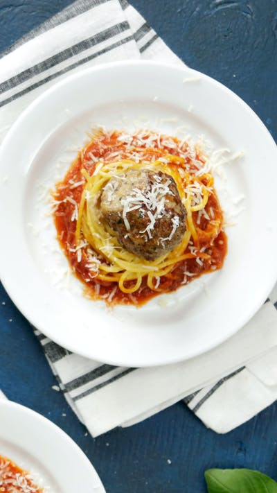 Spaghetti and Meatball Nests