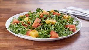 Watercress and Melon Salad Image