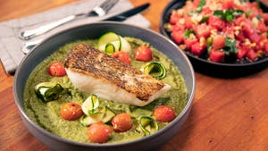 Sea Bass in Green Curry Image