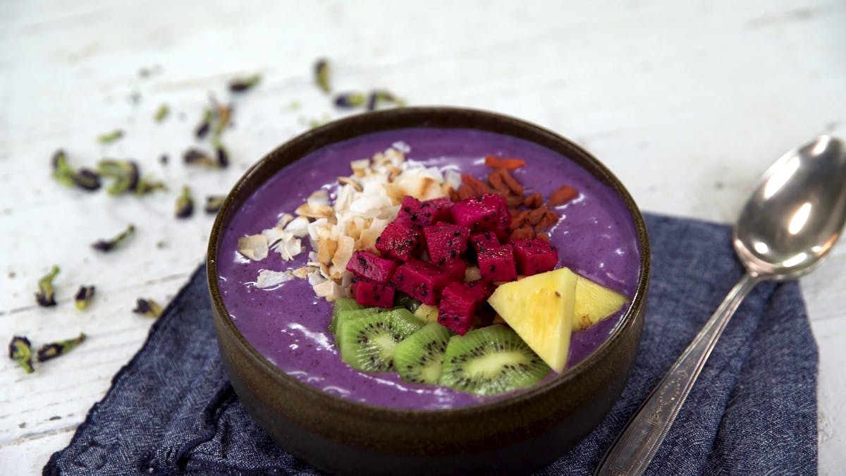 Vibrant Smoothie Bowl Image
