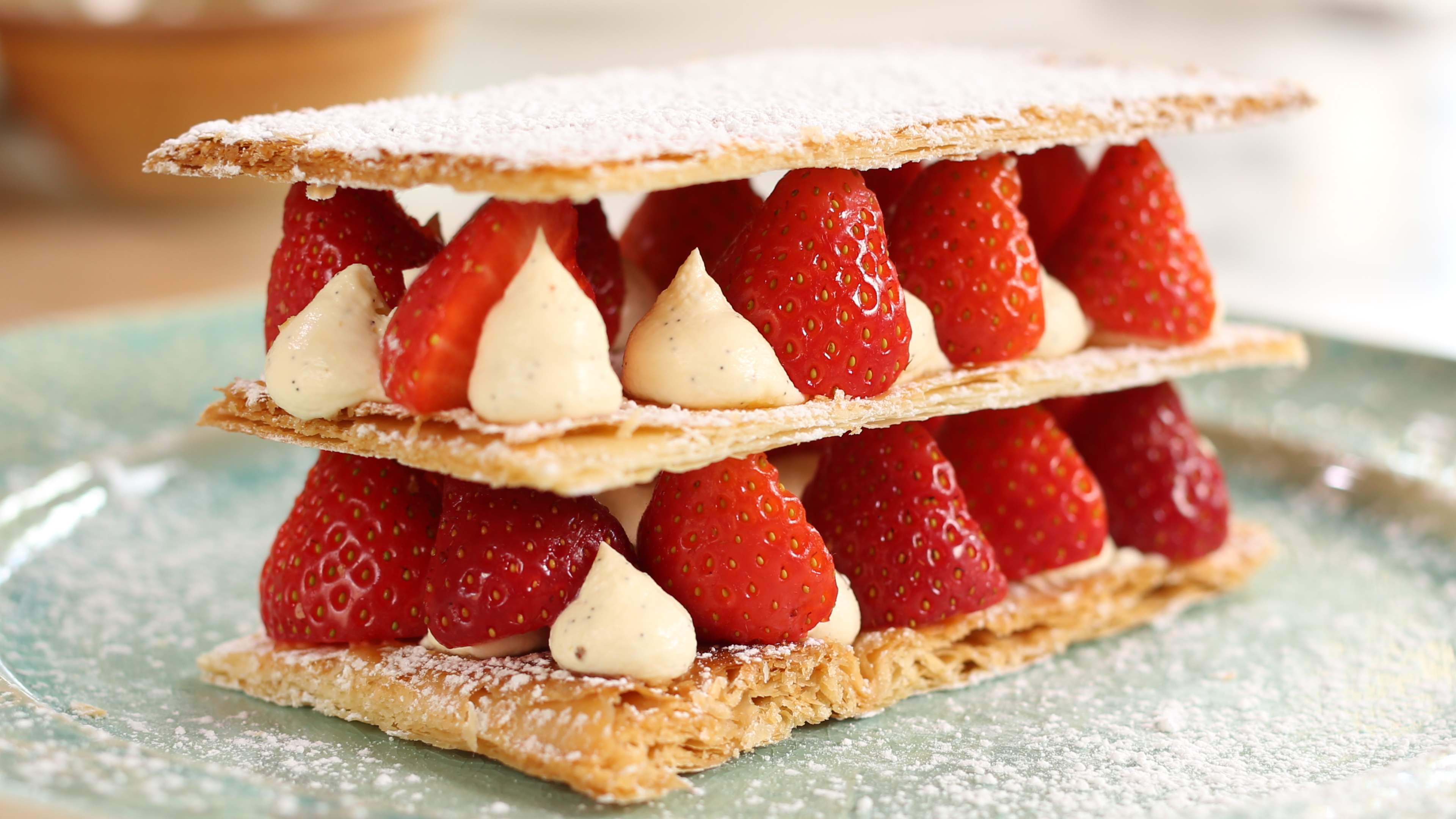 Strawberry Millefeuille Recipe Dishmaps