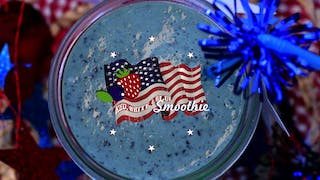 Red White and Blue Smoothie