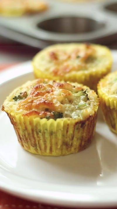 Broccoli & Quinoa Egg Muffins