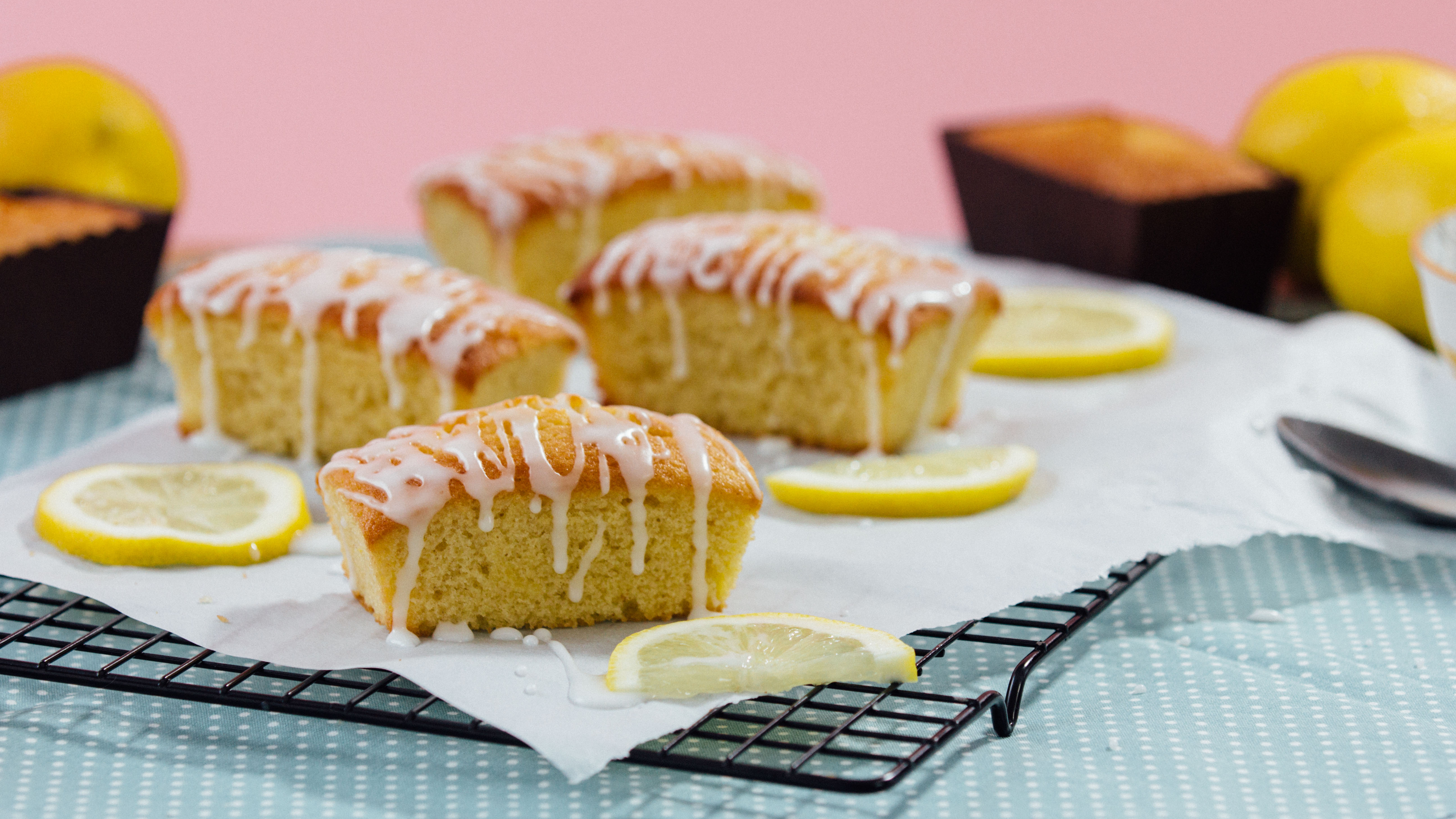 Tastemade Mini Lemon Drizzle Loaves Recipe