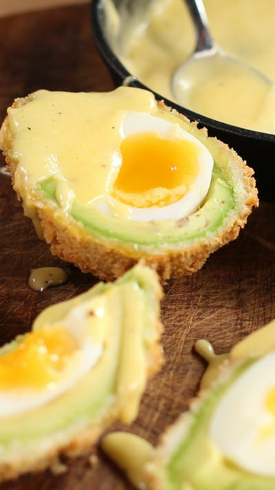 Avocado 'Scotch Egg'
