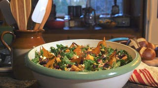 Roasted Root Vegetable and Farro Salad