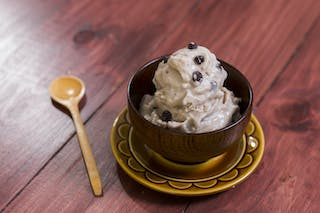 Banana Chocolate Chip  Ice Cream  16x9
