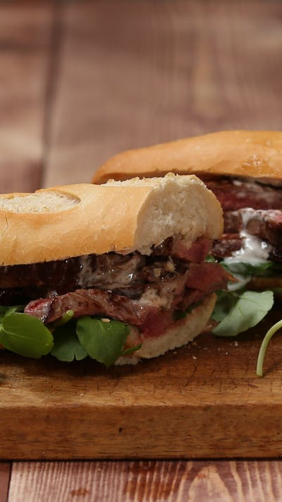 Speedy Steak Sandwich