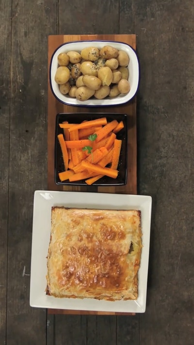 Moroccan Turkey Pie