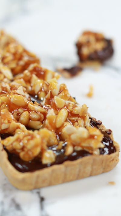 Peanut Butter and Chocolate Tart
