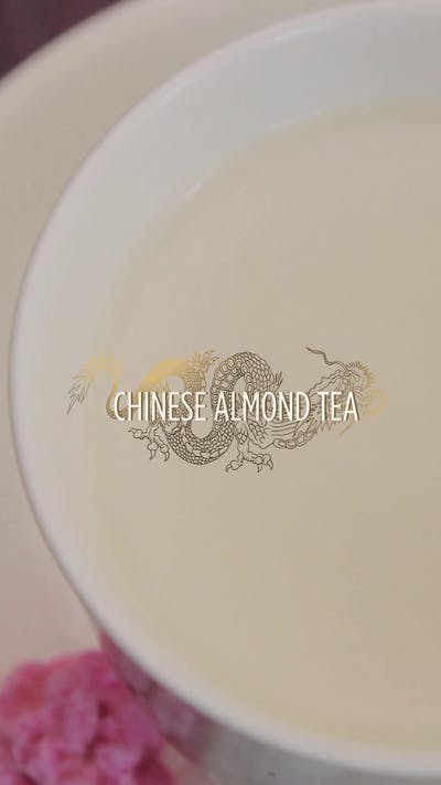Chinese Almond Tea