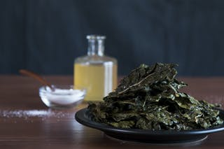 Salt and Vinegar Swiss Chard Chips 16x9