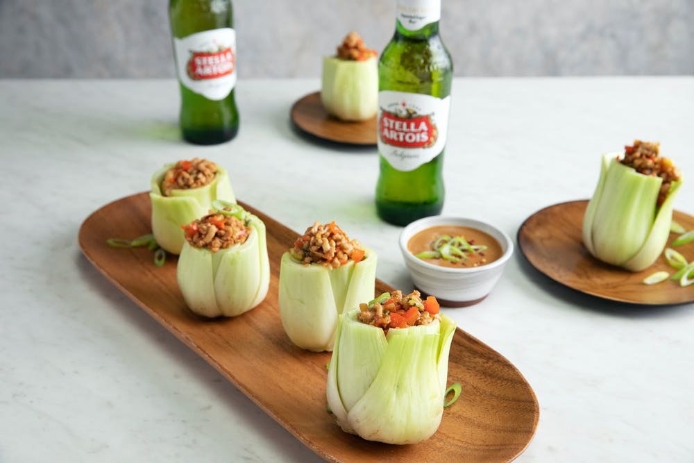Baby Bok Choy Cups