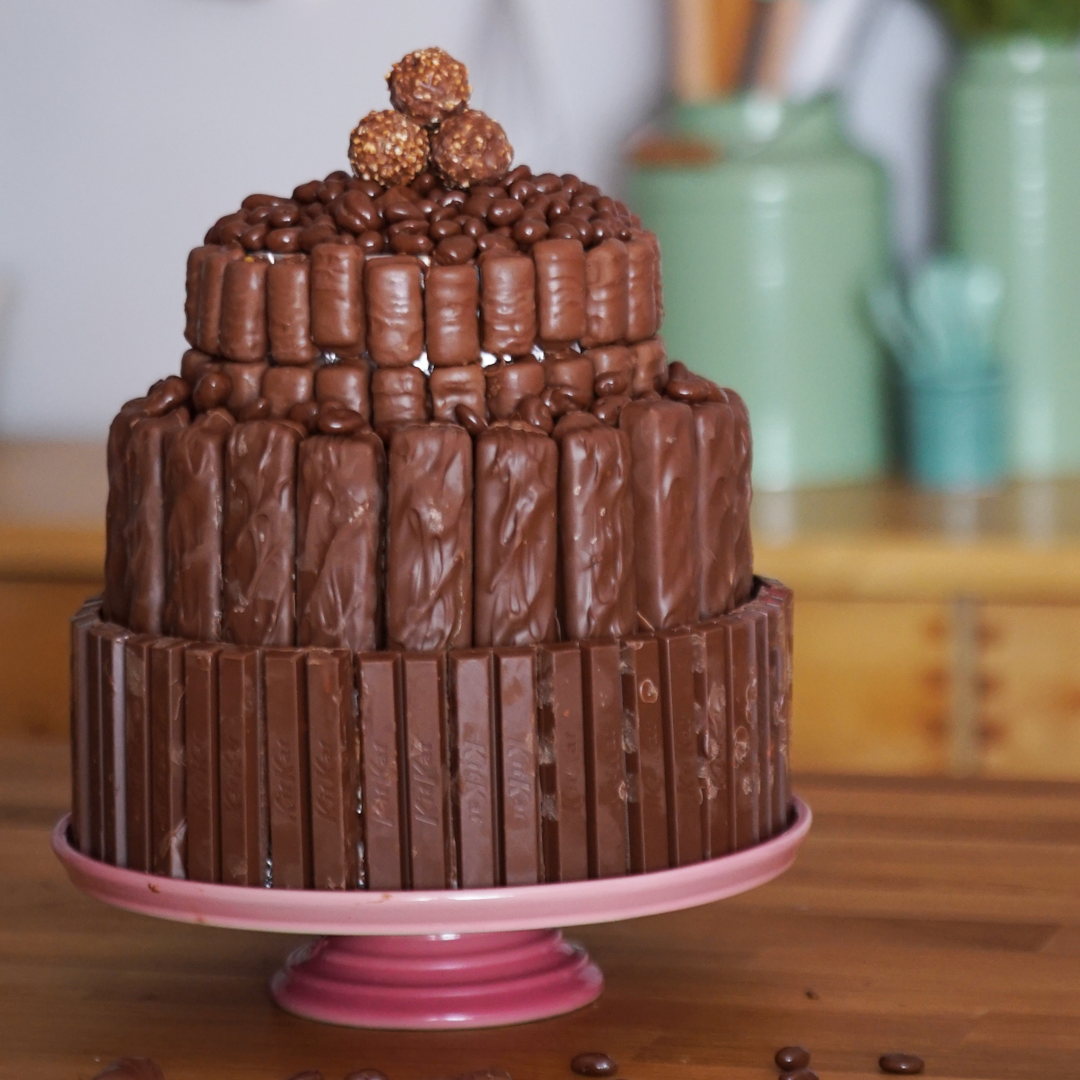 Decorate Cake With Chocolate Bars | Billingsblessingbags.org