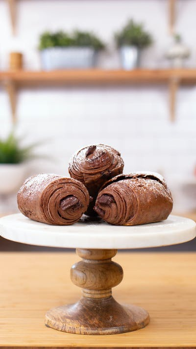 Chocolatey Chocolate Croissants