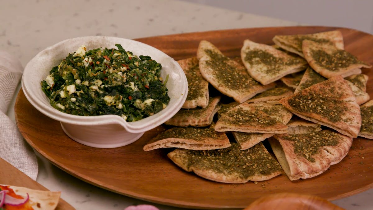 Herby Spinach & Feta Dip Image