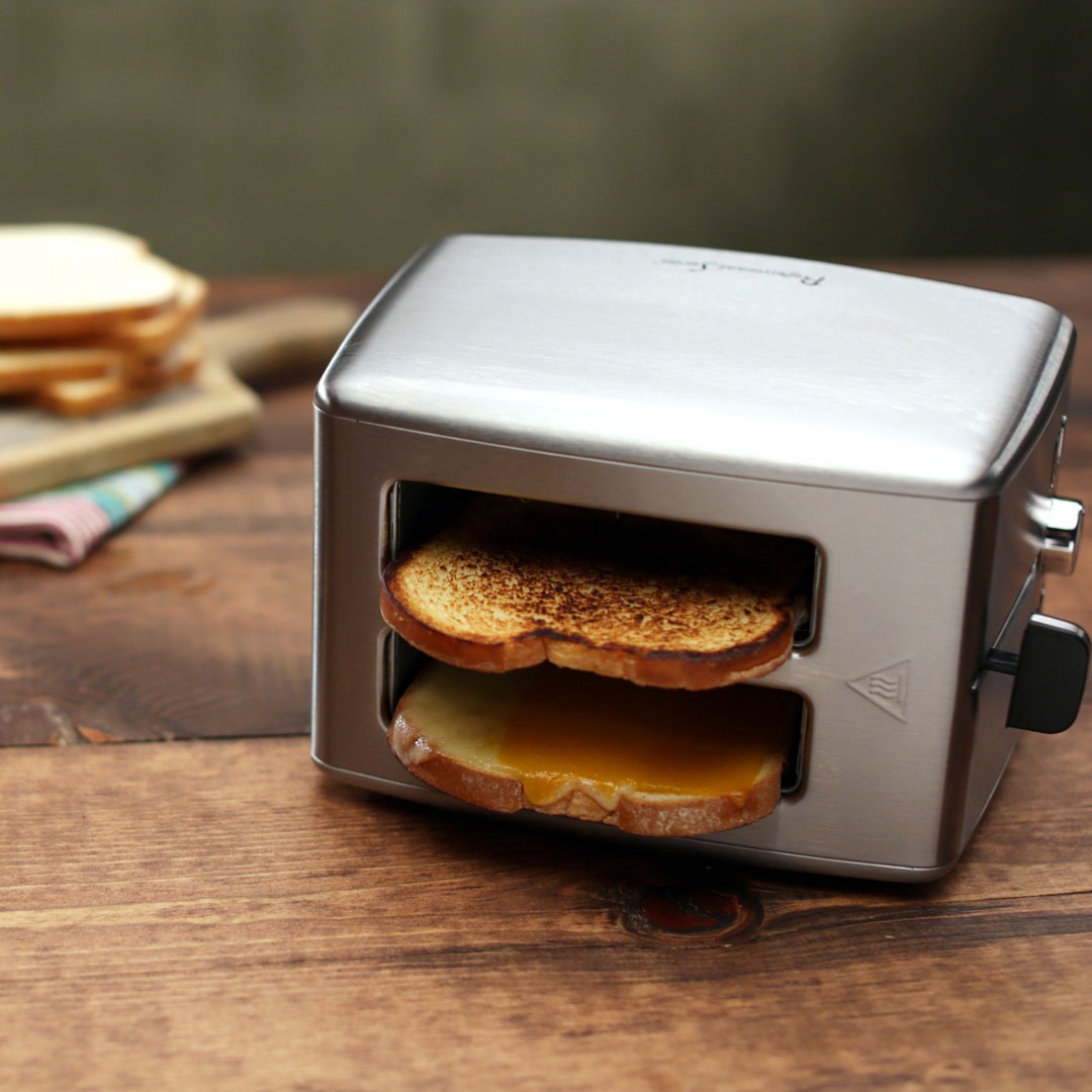 Toaster Grilled Cheese Hack Recipe
