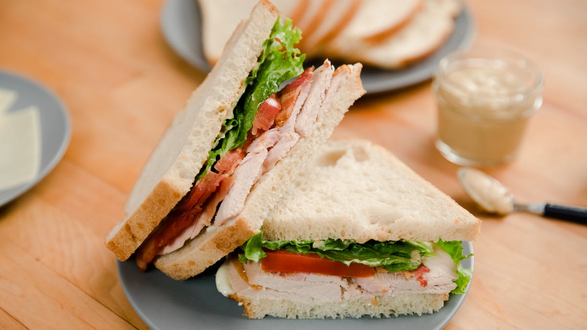 Not So Average Turkey Sandwich Image