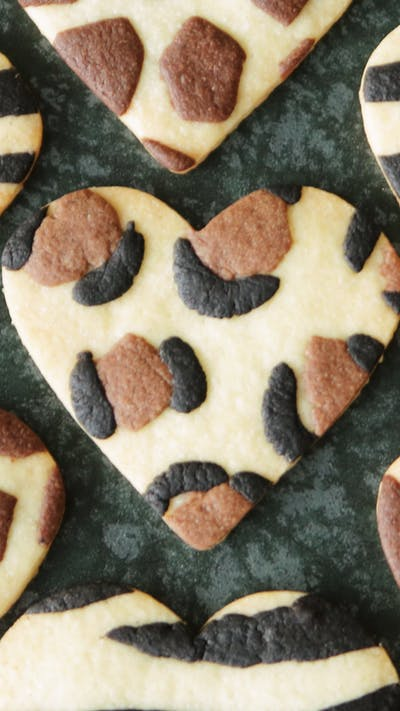 Animal Pattern Cookies 3 Ways