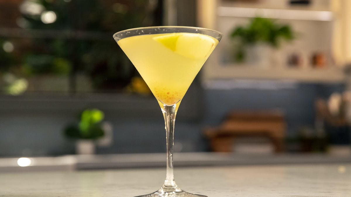 Holiday Apple Cocktail Image