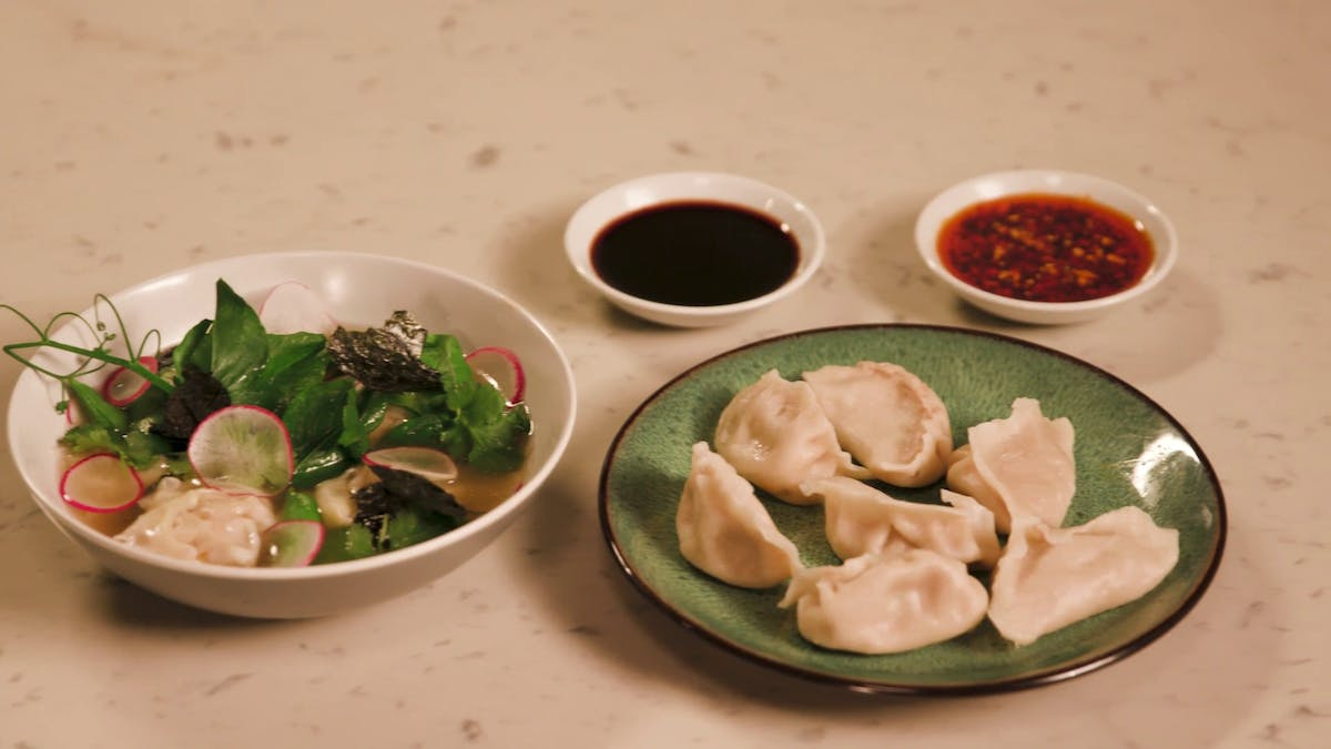 Chicken Dumplings Image