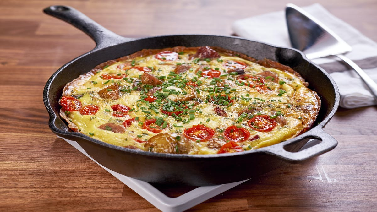 Full English Breakfast Frittata Image