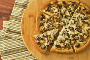 Philly Cheesesteak Pizza
