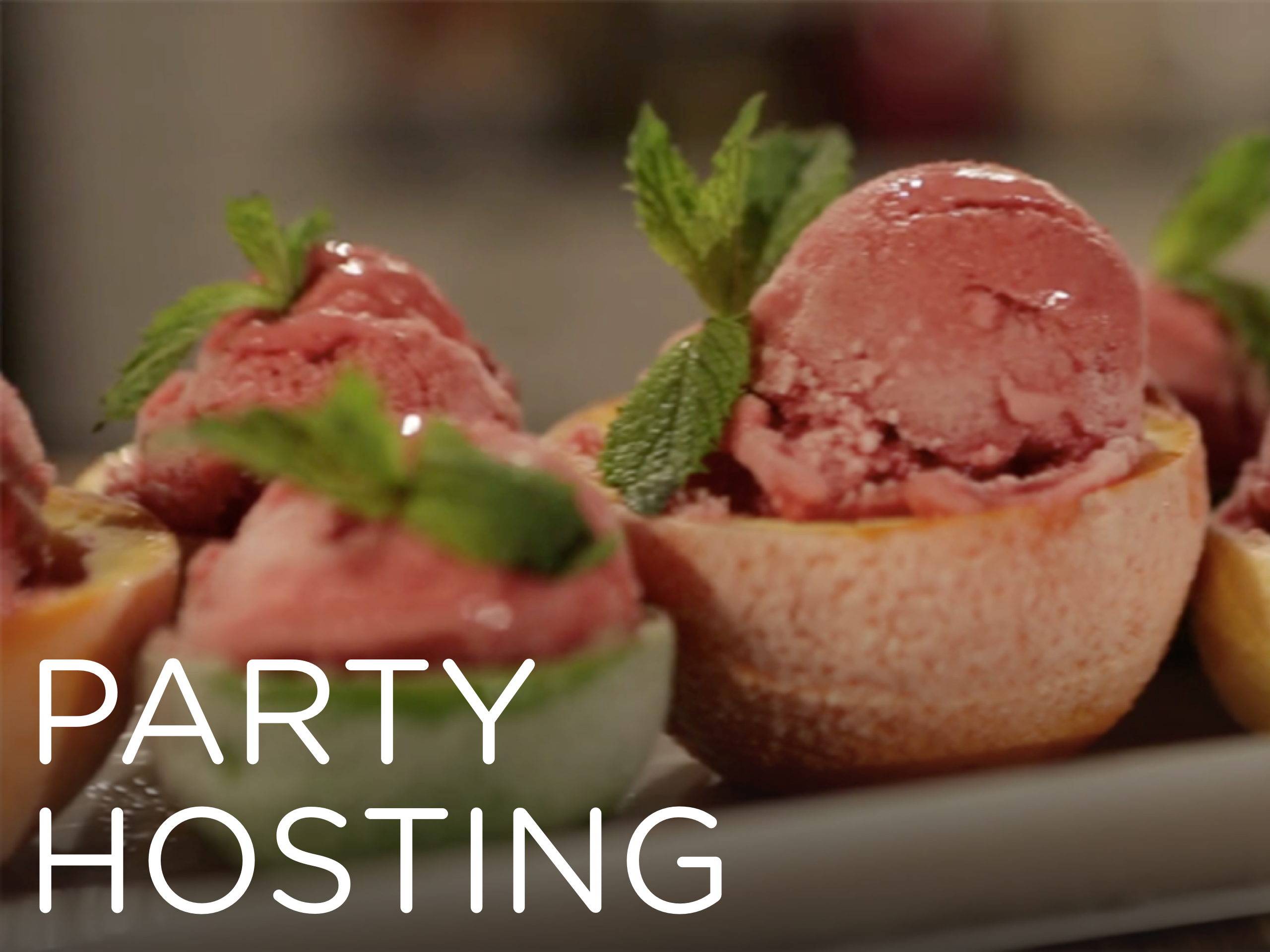 hosting the ultimate party ~ online event planning class